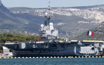 Το μεγαλύτερο αεροπλανοφόρο της Γαλλίας κατευθύνεται στην Ανατολική Μεσόγειο