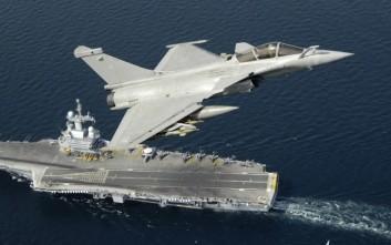 Ανέλαβε δράση κατά του ISIS το θηριώδες αεροπλανοφόρο της Γαλλίας