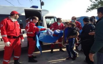 Υπνόσακοι από τον Ερυθρό Σταυρό στους πρόσφυγες της Ειδομένης