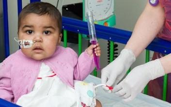 Γιατροί θεράπευσαν παιδική λευχαιμία