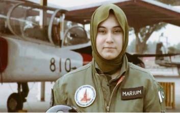Νεκρή γυναίκα πιλότος της πακιστανικής Αεροπορίας