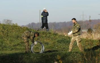 Κινητικότητα στα σύνορα της πΓΔΜ για την κατασκευή φράχτη