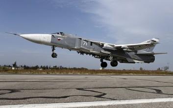 Ρωσικό μαχητικό συνετρίβη στη Συρία