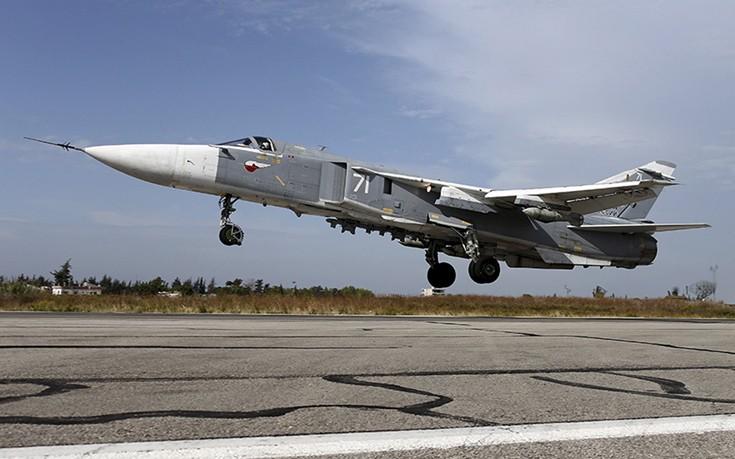 Η ρωσική αεροπορία βομβάρδισε τζιχαντιστές που έτρεχαν να σωθούν από την Ράκα