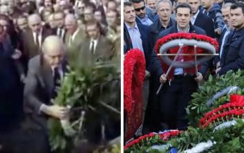 Η γκάφα της «Αυγής» για το Πολυτεχνείο και τον πρωθυπουργό που κατέθεσε στεφάνι