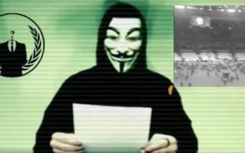 Πόλεμο στο ISIS κηρύσσουν οι Anonymous μετά τις επιθέσεις στο Παρίσι