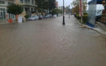 Πλημμύρες στην Πρέβεζα από την κακοκαιρία