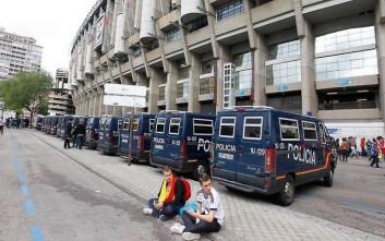 Δρακόντεια μέτρα ασφαλείας στο Ρεάλ-Μπαρτσελόνα