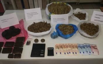 Τρία κιλά χασίς βρέθηκαν σε σπίτι στη Νέα Ιωνία