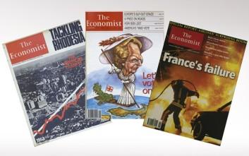 Πενήντα χρόνια ιστορίας σε εξώφυλλα του Economist