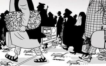 Το σκίτσο που προκαλεί διαμάχες και οργή