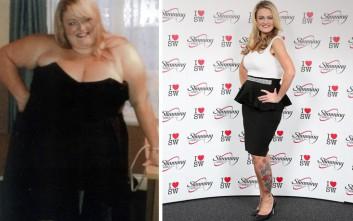 Η αποφασιστική γυναίκα που έχασε με άσκηση και δίαιτα 90 κιλά!