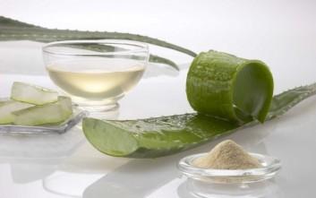 Φυσικό serum με αμυγδαλέλαιο και aloe vera