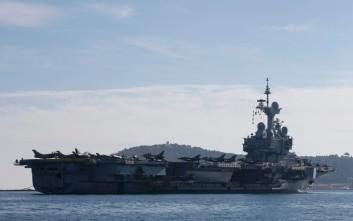 Στον πόλεμο κατά του ISIS από αύριο το θηριώδες αεροπλανοφόρο της Γαλλίας