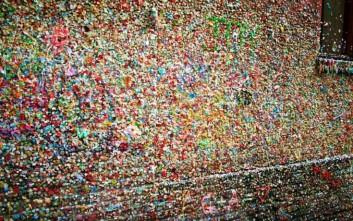 Τέλος εποχής για τον τοίχο με τις τσίχλες στο Σιάτλ