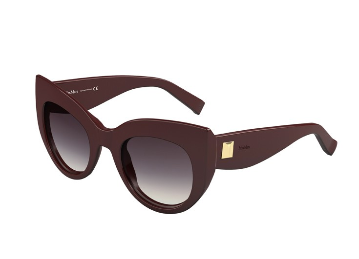 Αρχιτεκτονικής εμφάνισης γυαλιά ηλίου σε τετραγωνισμένη φόρμα και φόρμα  «Μάτι της Γάτας» 25073925c7f