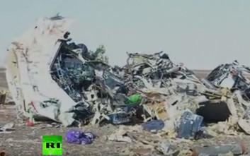 Βίντεο από το σημείο της συντριβής του ρωσικού αεροσκάφους