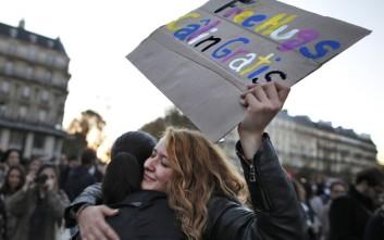 Η ανοιχτή αγκαλιά των γάλλων πολιτών μετά το μακελειό