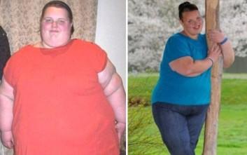Η κάποτε «παχύτερη έφηβη της Βρετανίας» έχασε 130 κιλά