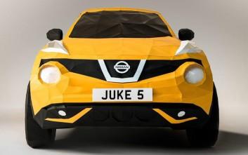 Ένα Nissan Juke φτιαγμένο από… χαρτί