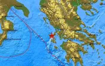 Σεισμός 4,1 Ρίχτερ ταρακούνησε την Κεφαλονιά