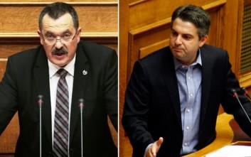 Άγριο μπινελίκι Παππά σε Κωνσταντινόπουλο μέσα στη Βουλή