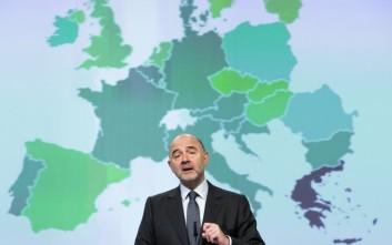 Μοσκοβισί για ελληνική οικονομία: Προϋπόθεση η εφαρμογή των μεταρρυθμίσεων