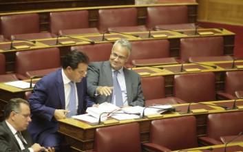 Διαφωνούν Γεωργιάδης και Βορίδης για την αποχώρηση της ΝΔ από τη Βουλή
