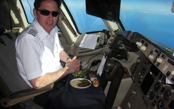 Γιατί οι πιλότοι δεν τρώνε το φαγητό που σερβίρεται στο αεροπλάνο