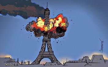 Η φονική επίθεση στο Παρίσι με την πένα των σκιτσογράφων