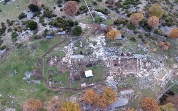 Μια αρχαία πόλη σε υψόμετρο 1.200 μέτρων στην Πίνδο