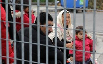 Διαμαρτυρίες για το κέντρο προσφύγων στο Σχιστό