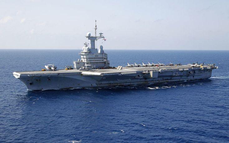 τρομοκρατικη επιθεση Hd: Το μεγαλύτερο αεροπλανοφόρο της Γαλλίας κατευθύνεται στην