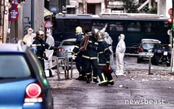 Μεγάλες ζημιές από την έκρηξη βόμβας στο ΣΕΒ