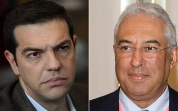 Συγχαρητήριο τηλεφώνημα Τσίπρα στον Αντόνιο Κόστα