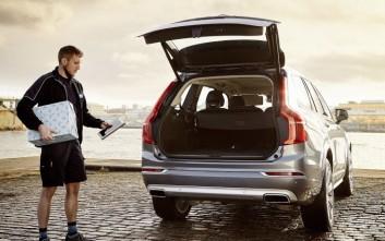 Οnline αγορές στο αυτοκίνητο από τη Volvo