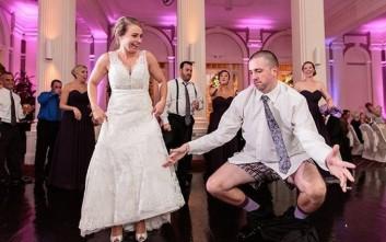 Έτσι είναι το τέλος μιας γαμήλιας τελετής