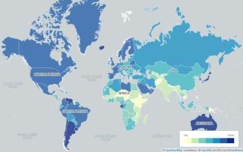 Οι 14 εναλλακτικοί χάρτες του πλανήτη που διαφέρουν από τους συνηθισμένους