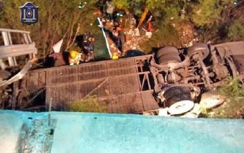 Τραγωδία με λεωφορείο της αστυνομίας στην Αργεντινή