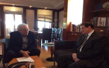 Συνάντηση Μπαλτά με τον πρέσβη του Κουβέιτ