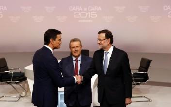 Πολεμικό το κλίμα στο ισπανικό ντιμπέιτ