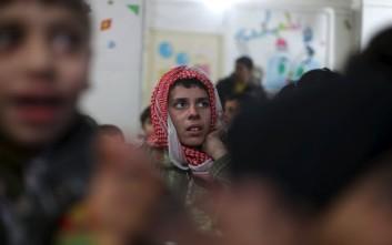 Στη Δαμασκό εκατοντάδες Σύροι
