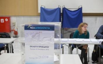 Με γρήγορους ρυθμούς η διαδικασία της ψηφοφορίας για τον αρχηγό της ΝΔ