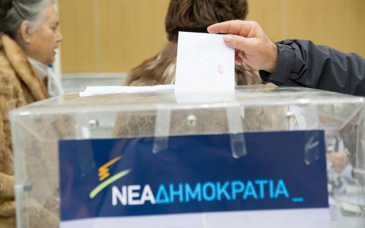 Τα τελικά αποτελέσματα των εκλογών της ΝΔ