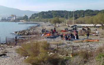Αντιδράσεις στη Μυτιλήνη για τη μεταφορά 56 προσφύγων από τη Σάμο