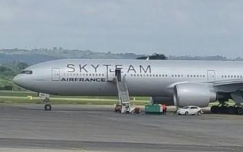 Δεν ήταν βόμβα το ύποπτο πακέτο στο αεροσκάφος της Air France