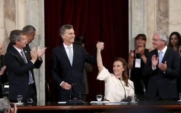 Ορκίστηκε ο νέος πρόεδρος της Αργεντινής