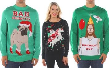 Απαράδεκτα χριστουγεννιάτικα πουλόβερ