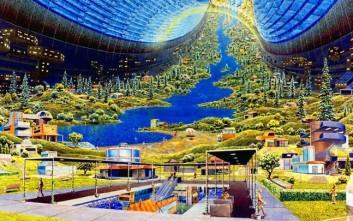 Έτσι ονειρευόταν το '70 η NASA την ανθρωπότητα στο διάστημα