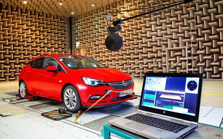 Η ακουστική μελέτη του νέου Opel Astra